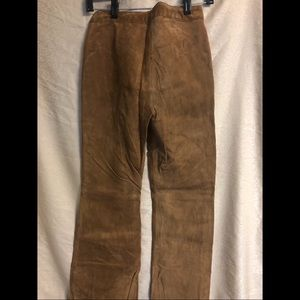 """h&m """"clothes"""" brand suede pants, new with tag"""